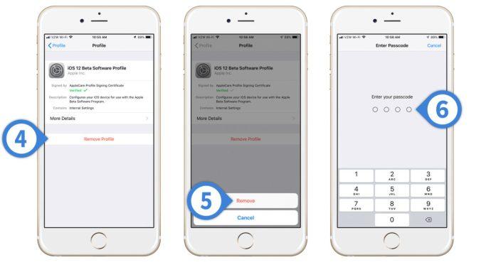 iphone leave beta ios 12
