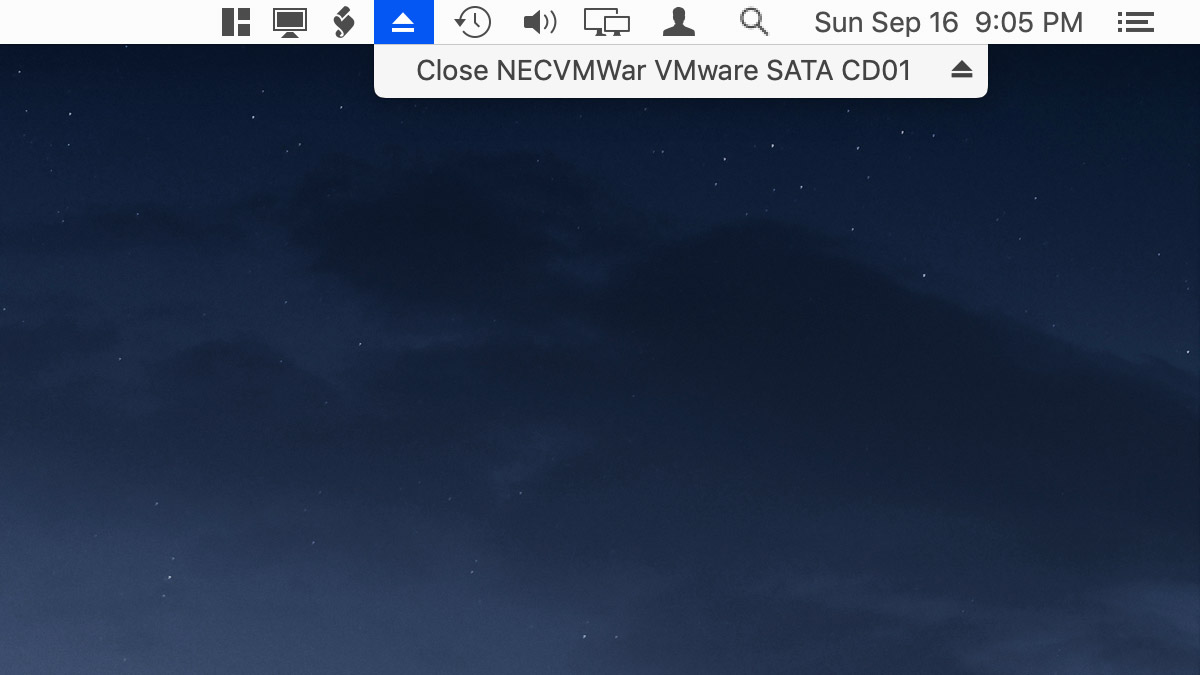 How to Add or Remove Eject Icon From the macOS Menu Bar