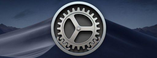 mac mojave software update