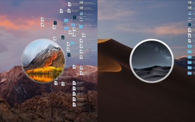 macos mojave stacks cleanup desktop
