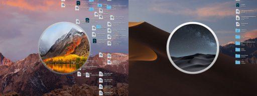 macos mojave stacks cleanup desktop