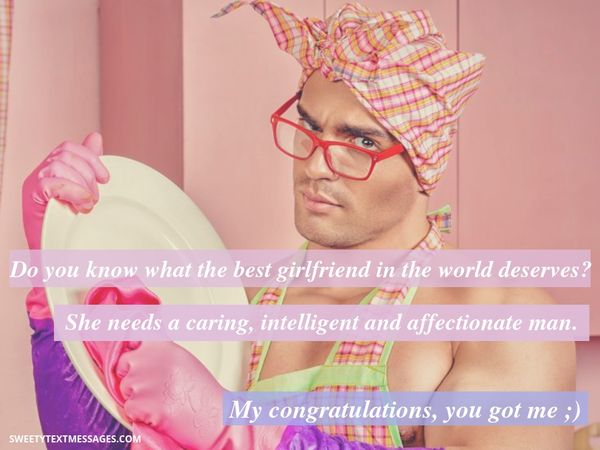Romantic sms message for boyfriend of girlfriend