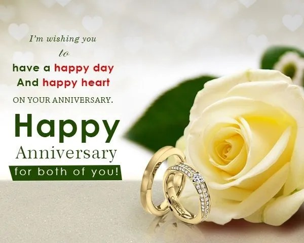 Nice Happy Anniversary to You Both Pics 2