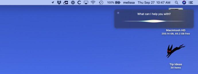 Siri Appears After Keyboard Shortcut on Mac