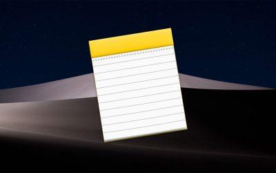notes app mac