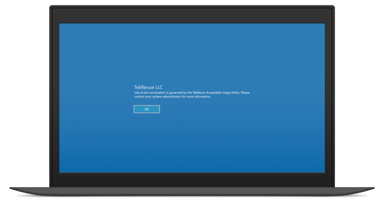 How to Add a Custom Login Message to Windows 10