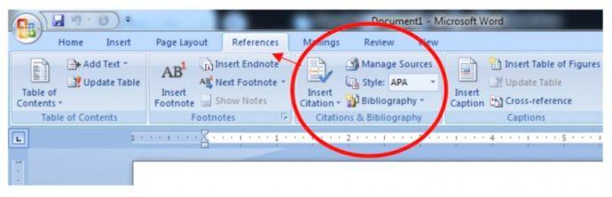 word essays bibliography