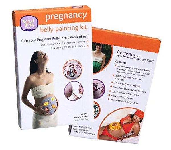 Belly painting kit