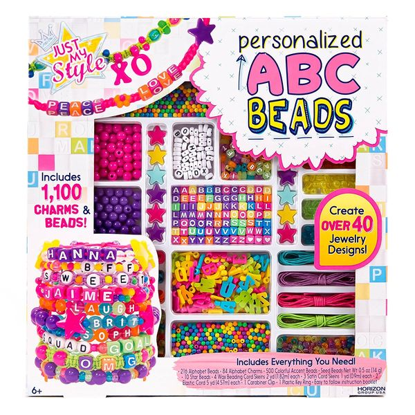 Perles ABC Just My Style par Horizon Group USA