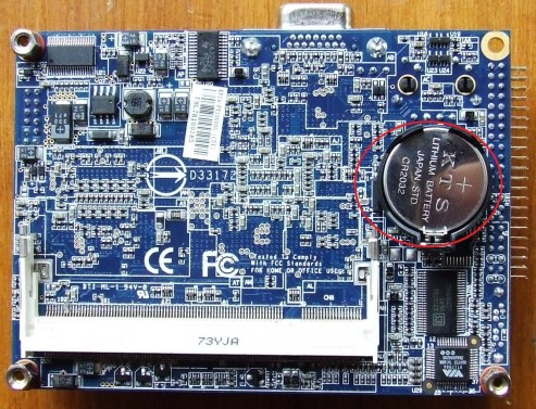 Motherboard-CMOS-Battery