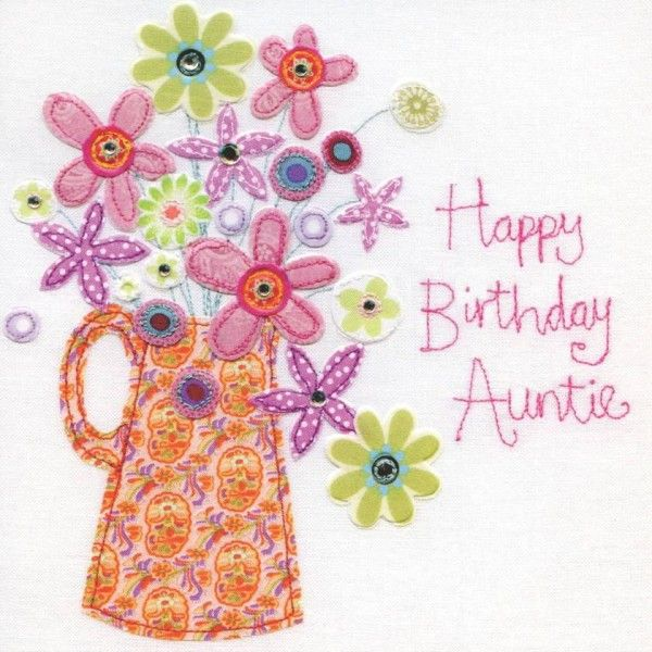 happy birthday auntie card happy birthday auntie