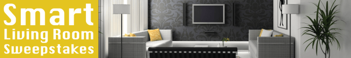 Smart Living Room Sweepstakes