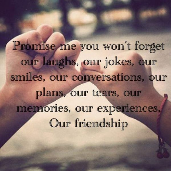 Friendship quotes about distance, life and time