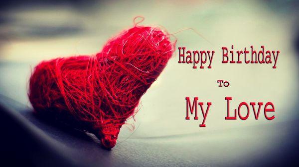 Happy birthday my love images 1