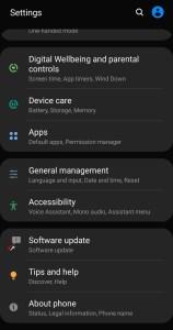 كيفية مسح ذاكرة التخزين المؤقت Galaxy S8 و Galaxy S8 Plus 3