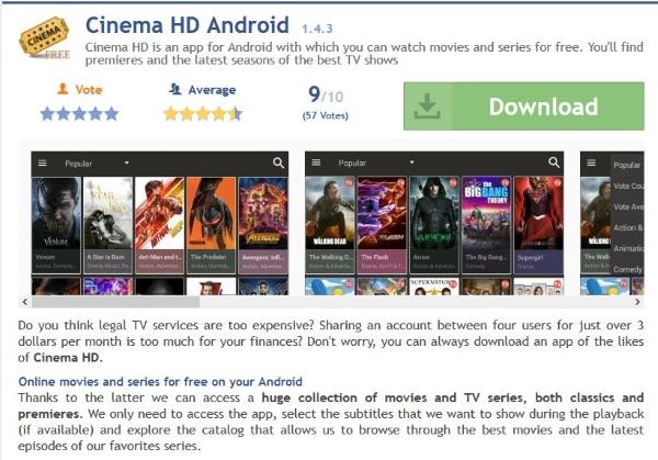 How To Install Cinema Hd On Windows 10