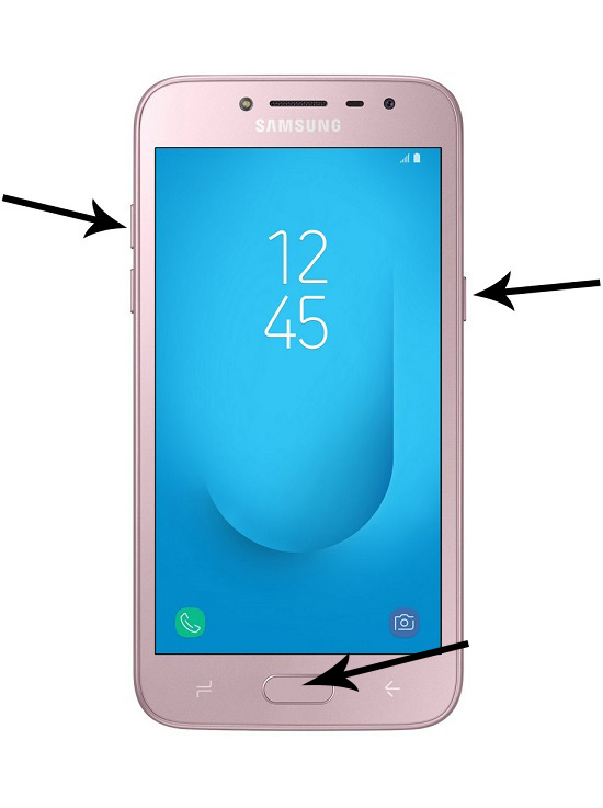 Samsung Galaxy J2 Forgot PIN Password