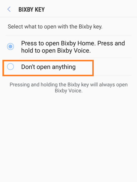 Galaxy Note 8 Disable Bixby