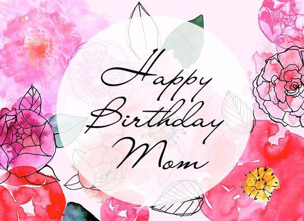 Happy Birthday Mom Cool Pic