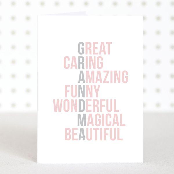 Awesome Grandma Birthday Card Ideas 1