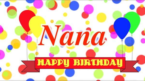 Beautiful Happy Birthday Nana Images 2