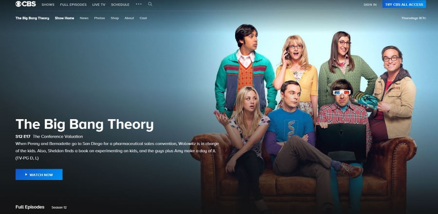 6847c775ecf The Best Place to Watch The Big Bang Theory Online