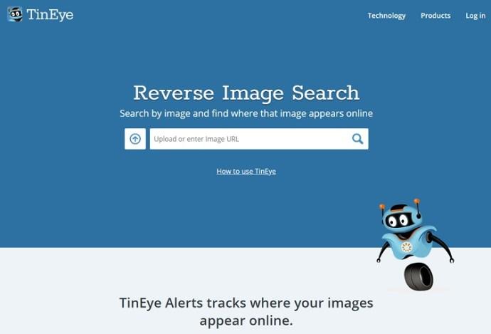 """TinEye """"srcset ="""" https://i0.wp.com/www.techjunkie.com/wp-content/uploads/2019/03/TinEyeLogo_WordMark.jpg?w=750&ssl=1 750w, https: //i0.wp. com / www.techjunkie.com / wp-content / uploads / 2019/03 / TinEyeLogo_WordMark.jpg? resize = 300% 2C204 & ssl = 1 300w, https://i0.wp.com/www.techjunkie.com/wp-content /uploads/2019/03/TinEyeLogo_WordMark.jpg?resize=471%2C320&ssl=1 471w, https://i0.wp.com/www.techjunkie.com/wp-content/uploads/2019/03/TinEyeLogo_WordMark.jpg? resize = 32% 2C22 & ssl = 1 32w, https://i0.wp.com/www.techjunkie.com/wp-content/uploads/2019/03/TinEyeLogo_WordMark.jpg?resize=412%2C280&ssl=1 412w, https: //i0.wp.com/www.techjunkie.com/wp-content/uploads/2019/03/TinEyeLogo_WordMark.jpg?resize=235%2C160&ssl=1 235w, https://i0.wp.com/www.techjunkie .com / wp-content / uploads / 2019/03 / TinEyeLogo_WordMark.jpg? resize = 100% 2C67 & ssl = 1 100w, https://i0.wp.com/www.techjunkie.com/wp-content/uploads/2019/ 03 / TinEyeLogo_WordMark.jpg? Resize = 370% 2C252 & ssl = 1 370w, https://i0.wp.com/www.techjunkie.com/wp-content/uploads/2019/03 /TinEyeLogo_WordMark.jpg?resize=400%2C272&ssl=1 400w, https://i0.wp.com/www.techjunkie.com/wp-content/uploads/2019/03/TinEyeLogo_WordMark.jpg?resize=150%2C102&ssl= 1 150w, https://i0.wp.com/www.techjunkie.com/wp-content/uploads/2019/03/TinEyeLogo_WordMark.jpg?resize=64%2C44&ssl=1 64w """"tamaños ="""" (ancho máximo: 690px) 100vw, 690px """"data-recalc-dims ="""" 1 """"/></p> <p>TinEye ya tiene unos mil millones de búsquedas de imágenes. Cuando usa su teléfono, el ícono de carga es una flecha que apunta hacia arriba.</p> <p>Toque eso y elija si desea usar una foto de su tarjeta SD, Google Drive u otra ubicación. Hay, sin embargo, un inconveniente. TinEye no es exactamente gratis ya que solo obtienes 150 búsquedas gratuitas por semana.</p><div class='code-block code-block-8' style='margin: 8px auto; text-align: center; display: block; clear: both;'> <div data-ad="""