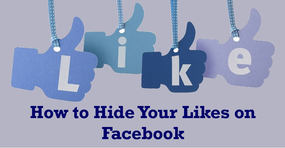 How to look at your likes on facebook