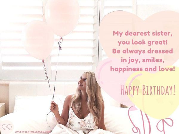 Happy Birthday Sister Quotes and Wishes to Text on Her Big Day