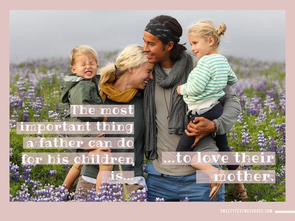 Nice quote about dad and children