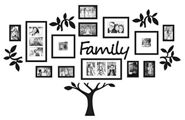 Family Tree Picture Frame Set