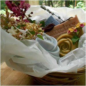 Handmade Soap Gift Basket