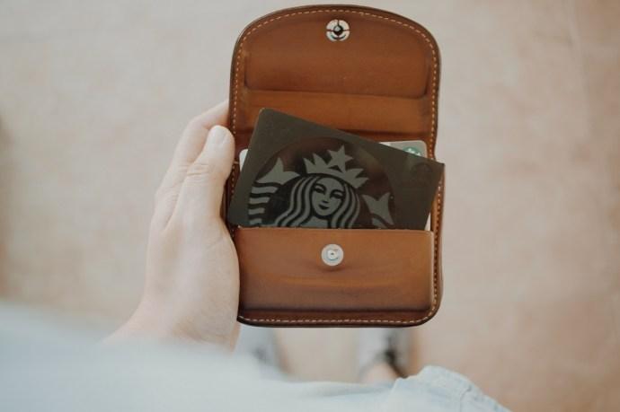 Check the balance of your Starbucks gift card
