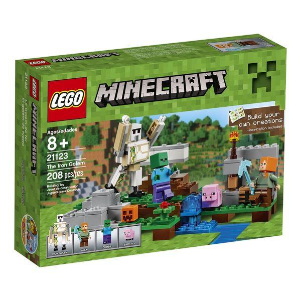 LEGO Minecraft the Iron Golem
