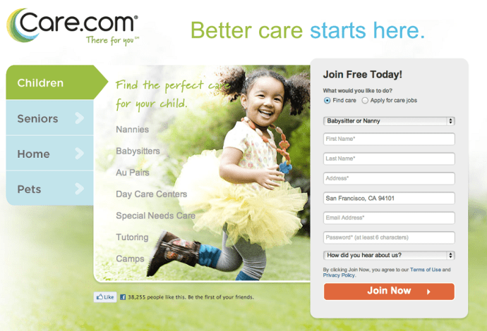 Place by Care com