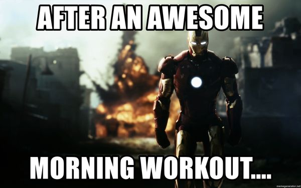 Morning Workout Meme 5