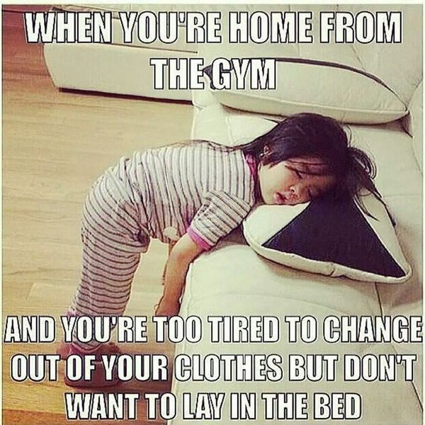 It hurts after workout memes 2