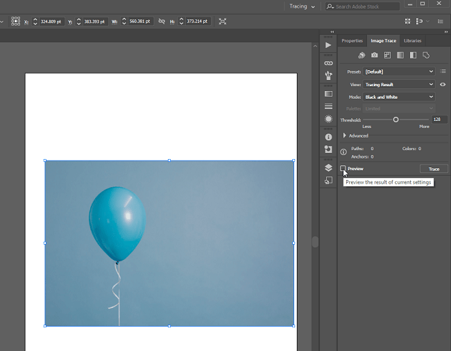 Turn Image into a Vector Image ilustrator