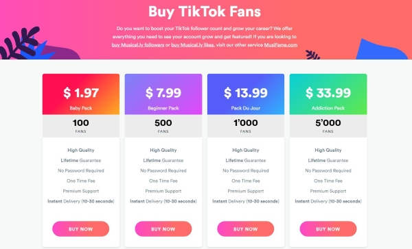 The Best Places to Buy Tik Tok Followers