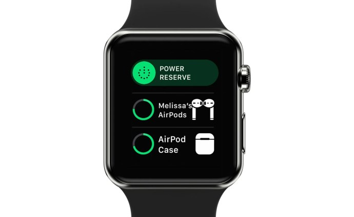 apple watch airpods battery life