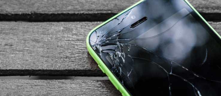 broken screen iphone