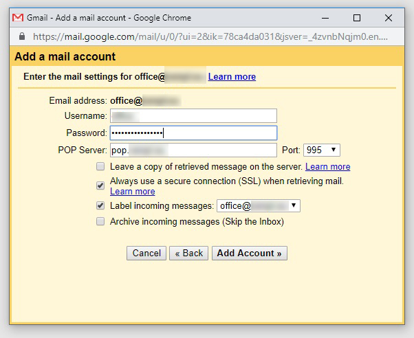 forward email to gmail