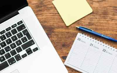 mac calendar desk
