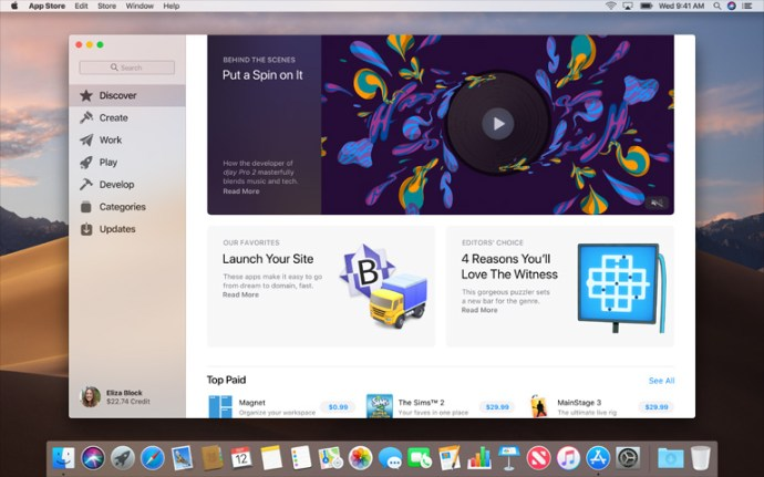 macOS Store