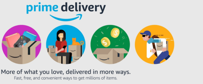 Amazon Prime is delivered to the hotel