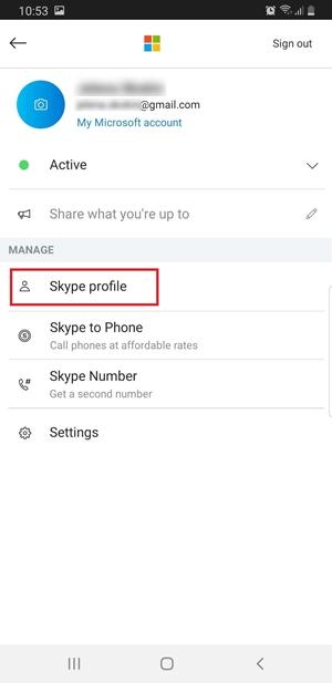 Skype Adını Değiştir