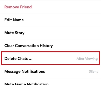 Change When a Message Expire Snapchat