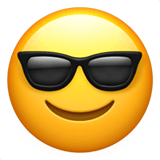 Face with sunglasses