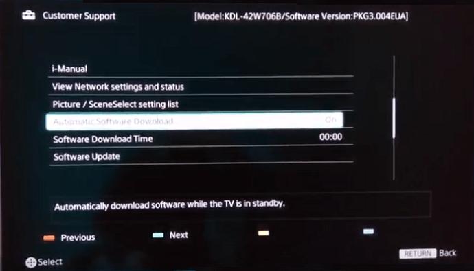 How to Update Bravia Smart TV