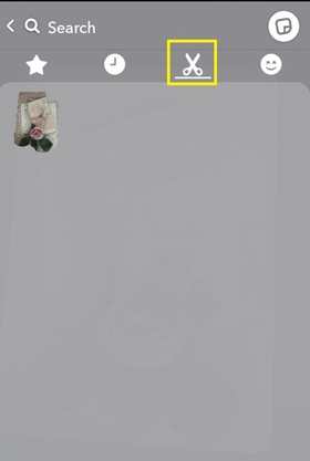 Snapchat Как удалить стикер